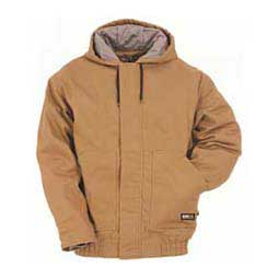 Hooded Quilt-lined Mens Jacket Berne Apparel